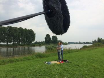 Het Getij Opnamedag aan de IJssel